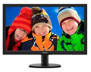 מסך מחשב Philips 233V5LSB - שלוש שנים אחריות באתר הלקוח