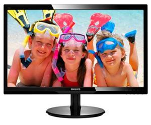 מסך מחשב Philips 246V5LHAB - שלוש שנים אחריות באתר הלקוח